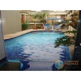 orçamento para piscina de alvenaria armada com deck Mooca