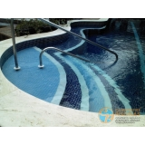orçamento para piscina de alvenaria armada com hidro Chora Menino