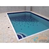 orçamento para piscina de alvenaria armada com vinil Praia da Baleia