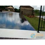 orçamento para piscina de alvenaria armada para clubes Valinhos