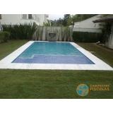 orçamento para piscina de alvenaria armada pequena Campo Grande