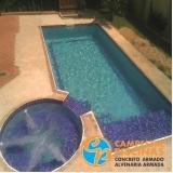 pastilha para piscina de fibra Vila Clementino
