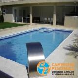 pedras para área piscina orçar Santo André