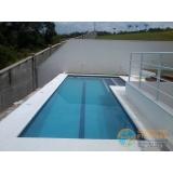 piscina com concreto Balneário Mar Paulista