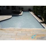piscina concreto projetado preço Ribeirão Pires