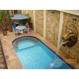 piscina de alvenaria armada com deck orçar Vila Ré