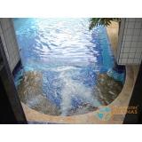 piscina de alvenaria armada com fibra Jardim Santa Helena