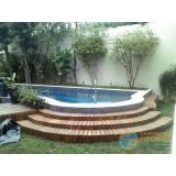 piscina de alvenaria armada com hidro Santana de Parnaíba