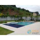 piscina de alvenaria armada com vinil orçar Vila Mazzei