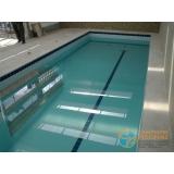 piscina de alvenaria armada com vinil Araçatuba