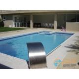 piscina de alvenaria armada estrutural Jardim Iguatemi