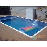 piscina de alvenaria armada no terraço orçar Lauzane Paulista