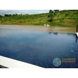 piscina de alvenaria armada para clubes Bragança Paulista