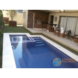 piscina de alvenaria armada suspensa orçar Sacomã
