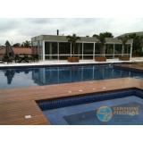 piscina de alvenaria armada suspensa Vila Andrade