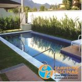 piscina de alvenaria com azulejo preço Conchas