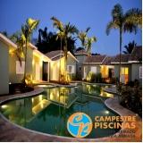 piscina de alvenaria com fibra São Miguel Paulista