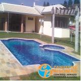 piscina de alvenaria com hidro Limão
