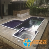 piscina de alvenaria com vinil preço Freguesia do Ó