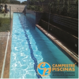 piscina de alvenaria pequena preço Alambari