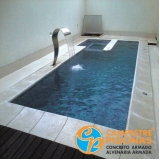 piscina de alvenaria suspensa preço Águas de Santa Bárbara
