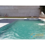 piscina de concreto com prainha preço Zona oeste
