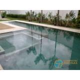 piscina de concreto com spa preço Mendonça