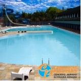 piscina de concreto para clubes preço Alambari