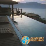 piscina de concreto suspensa preço Vila Albertina