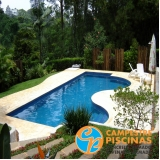 piscina de fibra com deck preço Riviera de São Lourenço