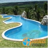 piscina de fibra de vidro preço Arcadas