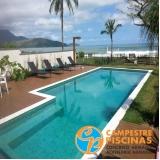 piscina de fibra elevada preço Campo Grande
