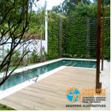 piscina de fibra para sitio preço Parque Residencial da Lapa