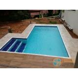 piscina de vinil acima do solo Iguape