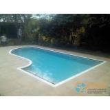 piscina de vinil aquecida valor Piqueri