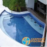 piscina de vinil com prainha Araçoiaba da Serra