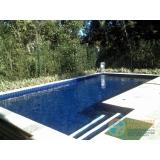 piscina de vinil em l valor Jardim Helian