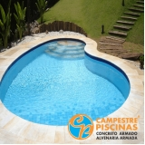 piscina de vinil para condomínio Litoral