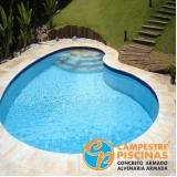 piscina de vinil para condomínio Jardim Everest
