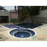 piscina em vinil com bar valor Vila Prudente