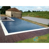 piscina em vinil com bar Francisco Morato
