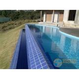 piscina em vinil com borda sem fim valor Parque Peruche