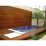 piscina em vinil com borda valor Americana