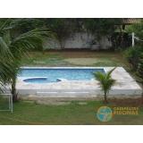 piscina em vinil com hidro valor Embu