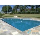 piscina em vinil com hidro Francisco Morato