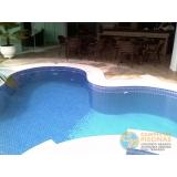 piscina em vinil com sauna valor Chora Menino