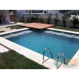 piscinas de alvenaria armada com azulejo Pinheiros