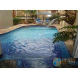 piscinas de alvenaria armada com deck Vila Dila