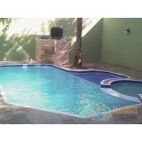 piscinas de alvenaria armada com hidro Araras