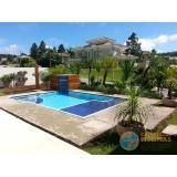 piscinas de alvenaria armada pequena Casa Verde